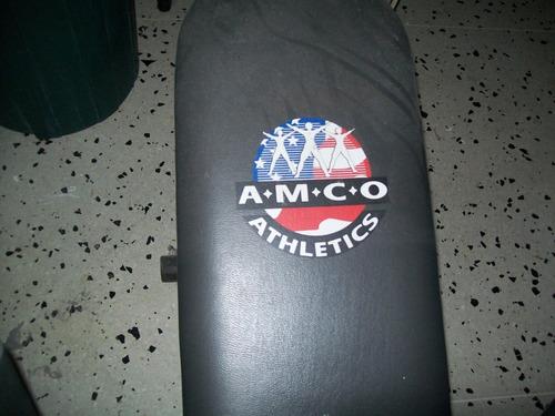banco para hacer abdominales a.m.c.o athletics