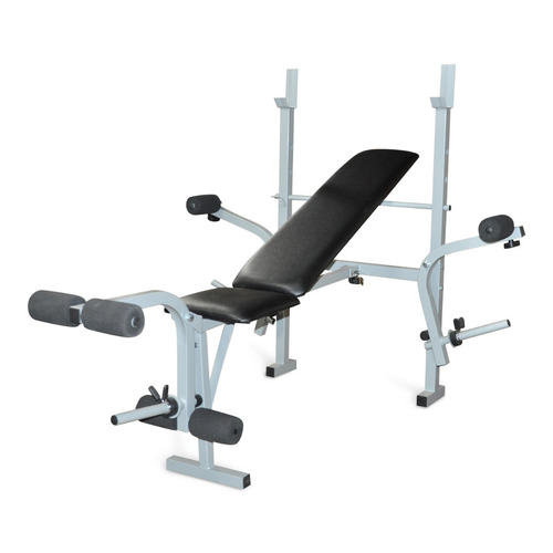 banco para pesas multiposicion semiprofesional pecho pierna