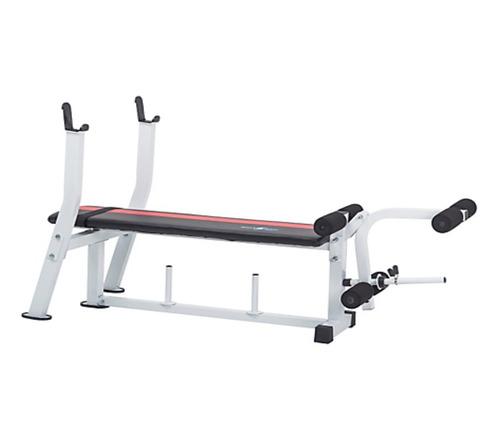 banco para pesas plano sportfitness fuerza gym
