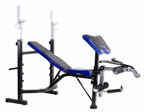 banco pesas ejercicio múlti - predicador sportfitness 711140