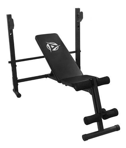 banco pesas ejercicio pecho pierna gym profesional 3 en 1