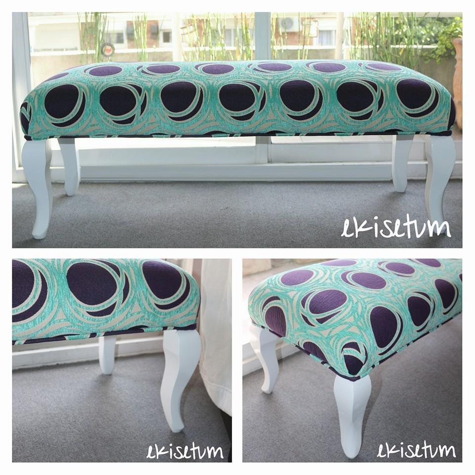 Perfecto Extra De Muebles Tapizados Largo Banco Galería - Muebles ...