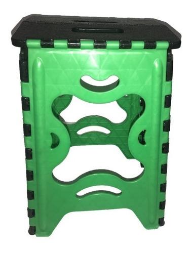 banco plegable de plastico colores varios 120 kg 3 unidades