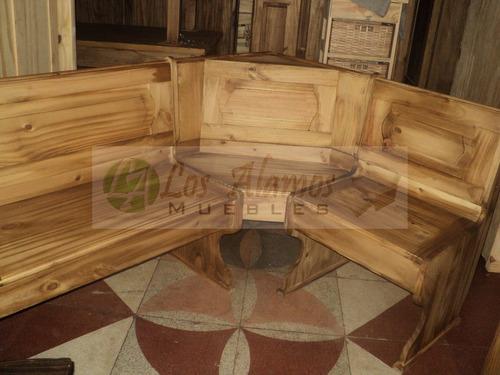 banco rinconero con baulera metro lineal los alamos muebles