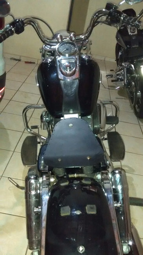 banco solo harley bobber chopper dras shadow intruder old hd