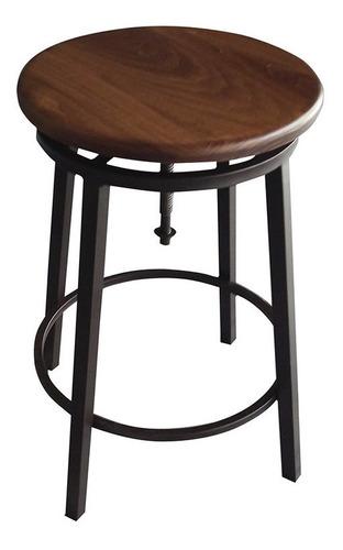 banco vetel altura ajustable asiento madera de pino durex