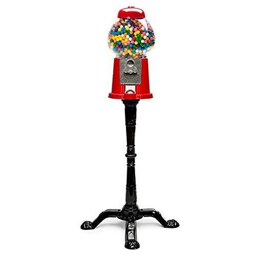 banco y soporte de la máquina clásica de gumball (37 alto)