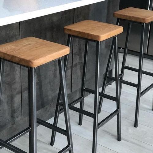 bancos de bar diseño industrial / vintage