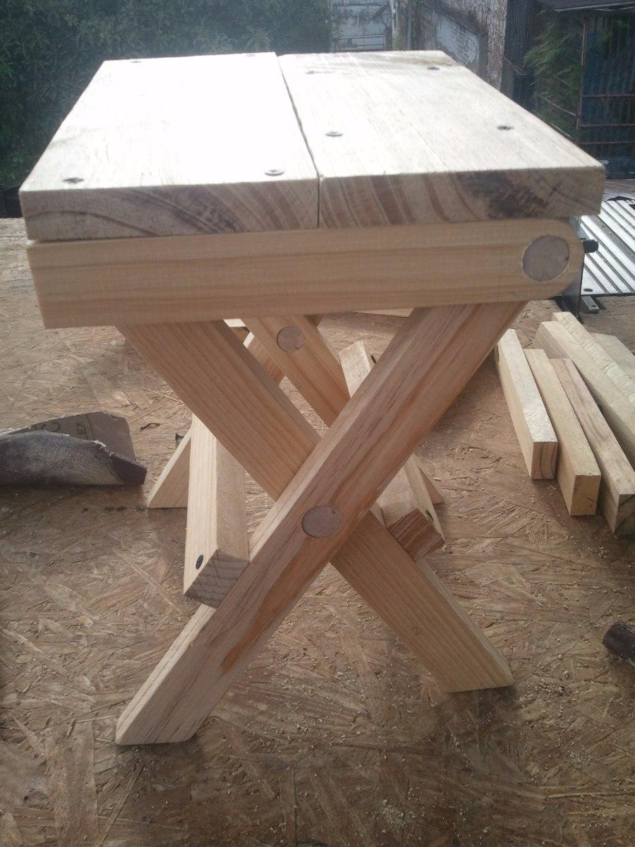 Bancos de madera pino bs en mercado libre - Madera de pino ...