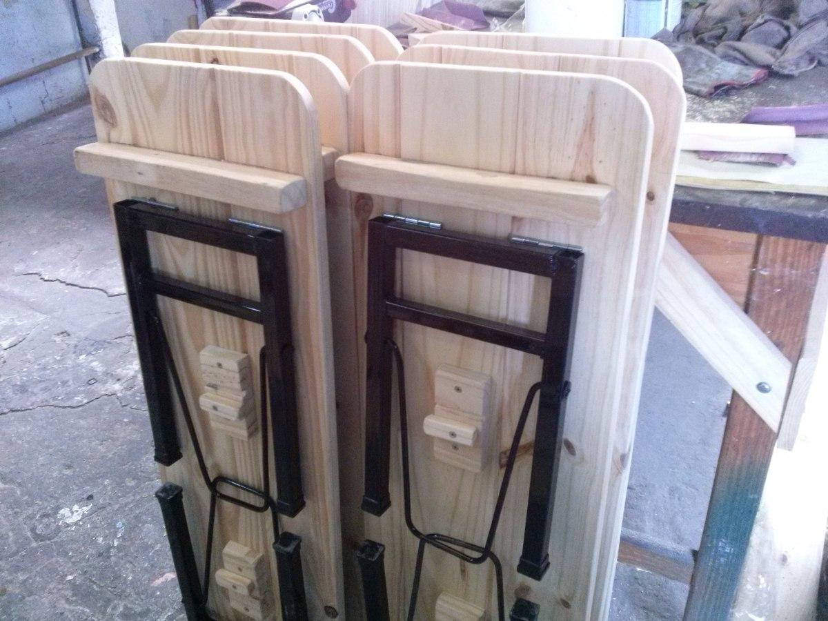 Venta de bancos de madera venta de bancos de madera for Mobiliario de jardin segunda mano