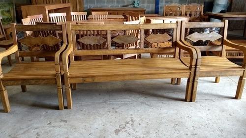 bancos rústicos  madeira maciça para jardim