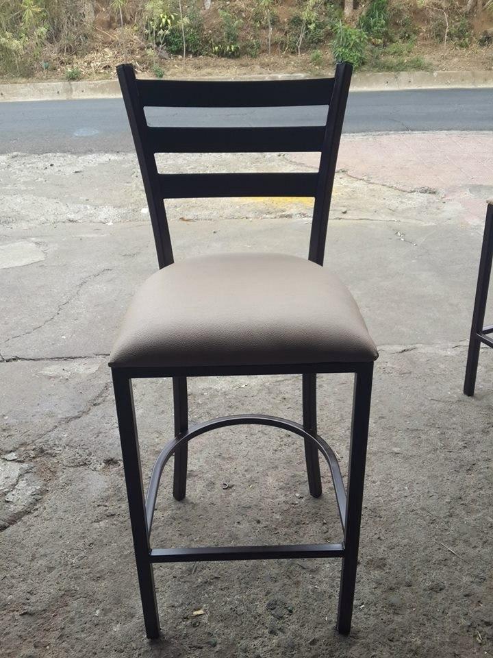 Bancos sillas de bar fijas y giratoria restaurant for Sillas para bares y confiterias