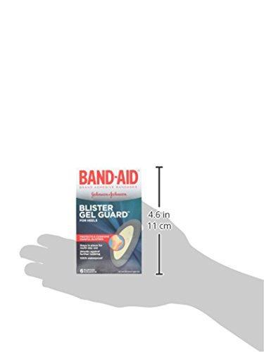 band-aid brand blister protection, vendas adhesivas, 6 count