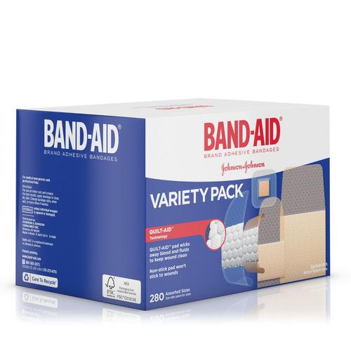 band-aid® de la marca comfort-flex® vendas adhesivas para