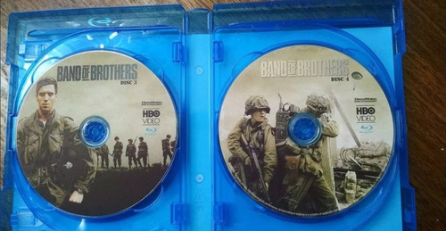 band of brothers mini serie completa (6 discos)