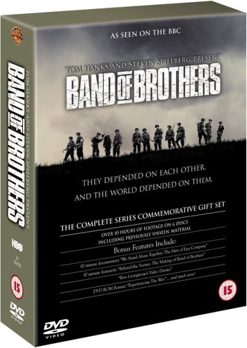 band of brothers miniserie completa en dvd!