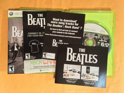 band xbox 360 the beatles rock