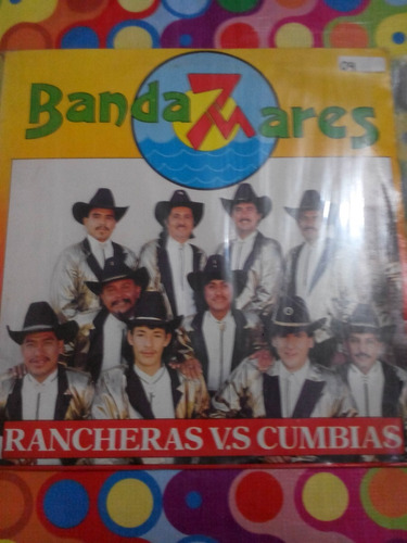 banda 7 mares lp rancheras vs cumbias 1993