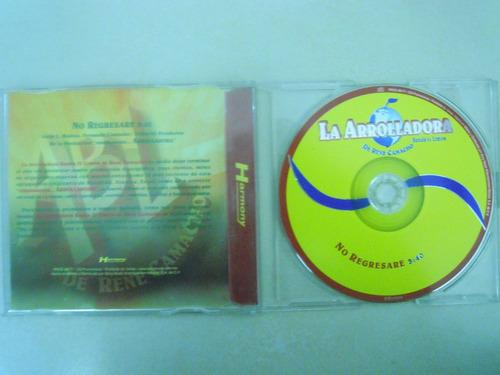banda arrolladora cd single no regresare