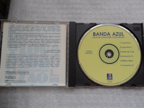 banda azul - louvor lovores louvorzão cd evangélico