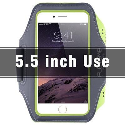 banda brazo lujo deportes iphone samsung otros 4.7  y 5.5