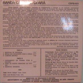 banda cabaçal-ceará - documentário folclore bras nº 23  1976