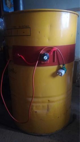 banda calefactora para disolver miel en tambor de 300 kilos