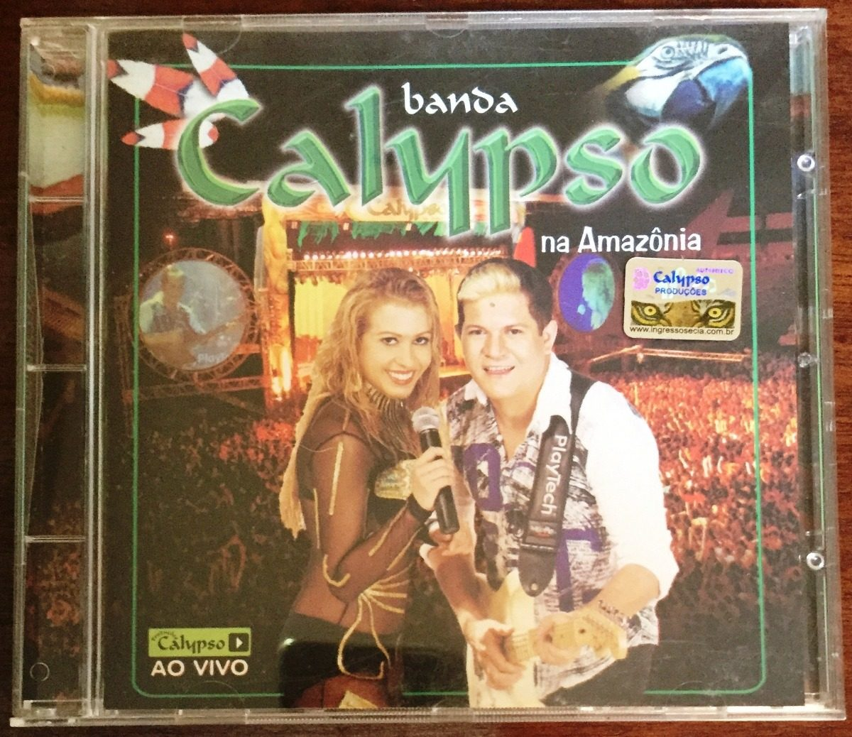 cd calypso ao vivo na amazonia