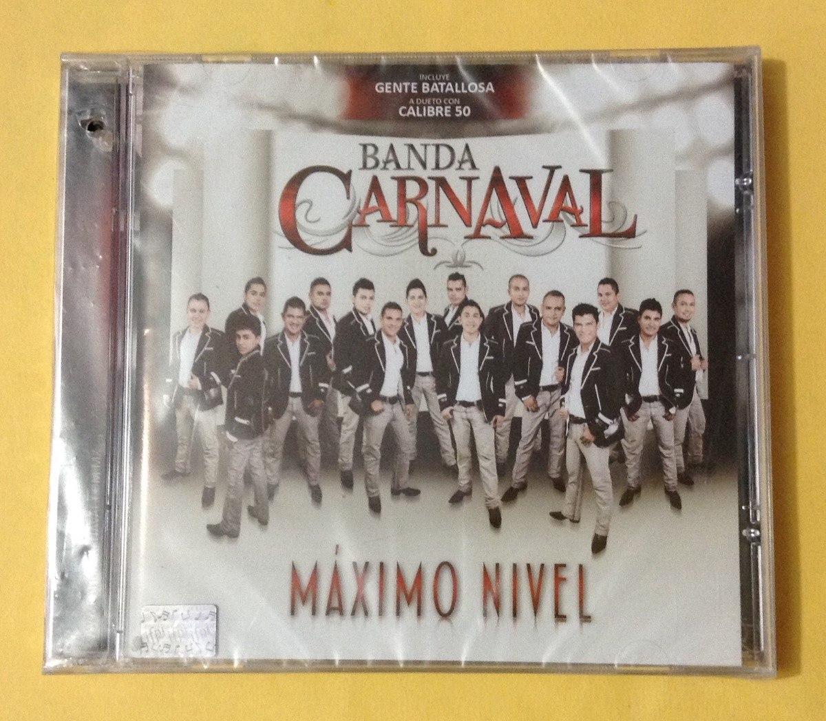 Banda Carnaval Máximo Nivel Cd 8000 En Mercado Libre