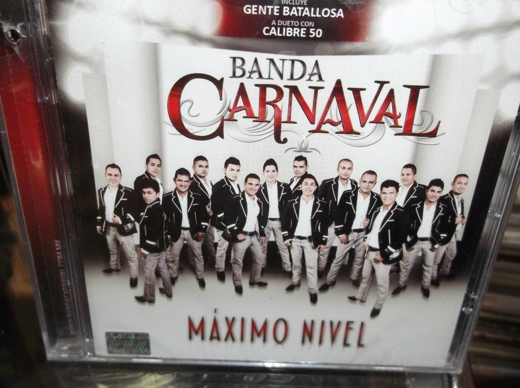 Banda Carnaval Maximo Nivel Cd Nuevo Sellado 9900 En Mercado Libre
