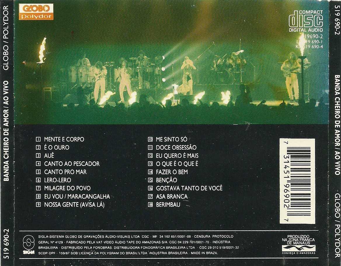 cd banda cheiro de amor 1993