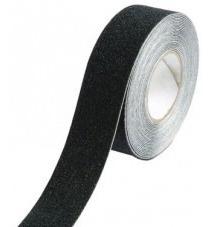 banda cinta antideslizante autoadhesiva negra 25mm x 18mts