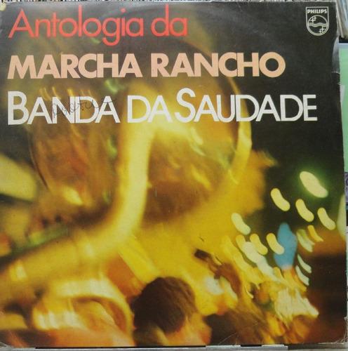 banda da saudade antologia da marcha rancho - lp philips