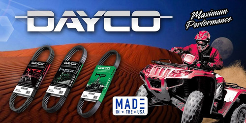 banda dayco atv hp2003 2001 polaris scrambler 400 4x4 378cc