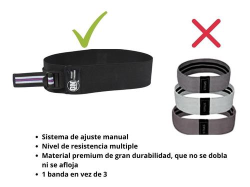 banda de resistencia ajustable para gluteos y piernas