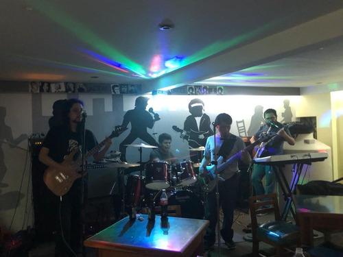 banda de rock para todo tipo de eventos