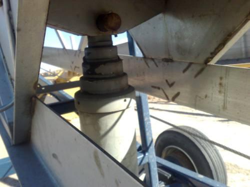 banda de trasportadora de acero inoxidable año 2006 seminuev