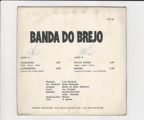 banda do brejo - placaiada/ laranjeira - compacto ep 14