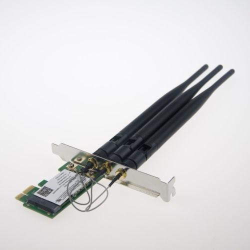 banda dual 2.4 / 5ghz antena de escritorio inalámbrico tarje