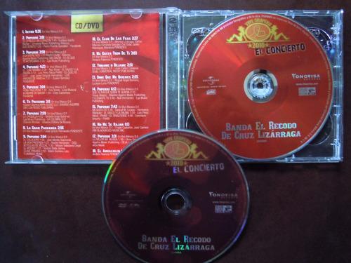 banda el recodo cd+dvd el concierto vive grupero 2010