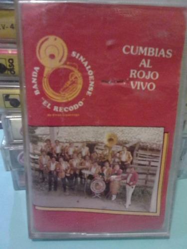 banda el recodo - cumbias al rojo vivo (casete original)