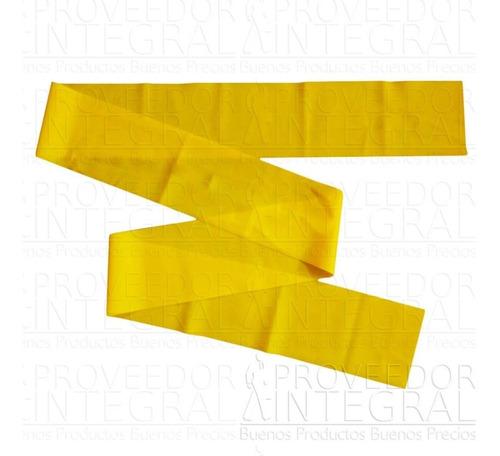 banda elástica amarilla terapias ejerci 1.5 mt tipo teraband