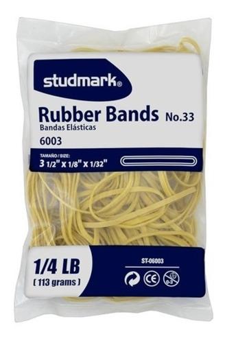 banda elástica ancha | bolsa 113grs | studmark