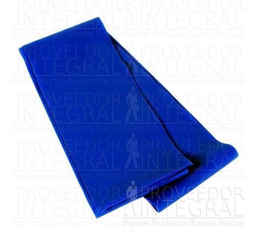 banda elástica azul 150cm terapia ejercicio cando látex free