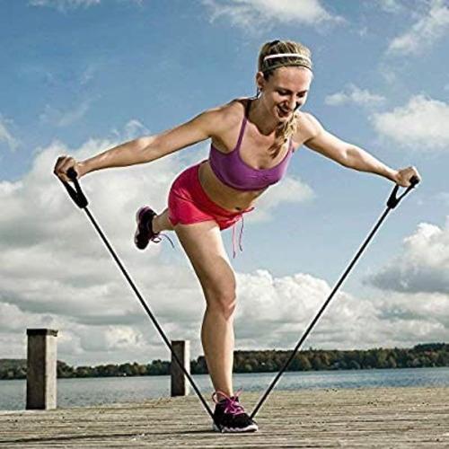banda elastica bandas de resistencia para hacer ejercicio