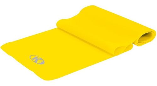 banda elástica ejercitadora de latex amarilla k6