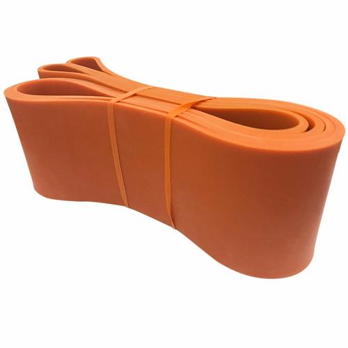 banda elastica naranja nivel 8 resistencia fitness d2030
