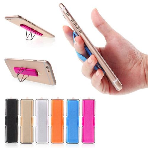 banda elastica soporte telefonos moviles - color beige