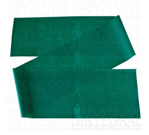 banda elástica verde 1.5 mt terapia ejercicio teraband cando