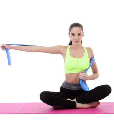 banda elástica yoga fitness